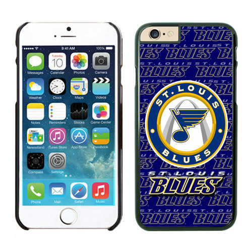 St. Louis Blues iPhone 6 Cases Black
