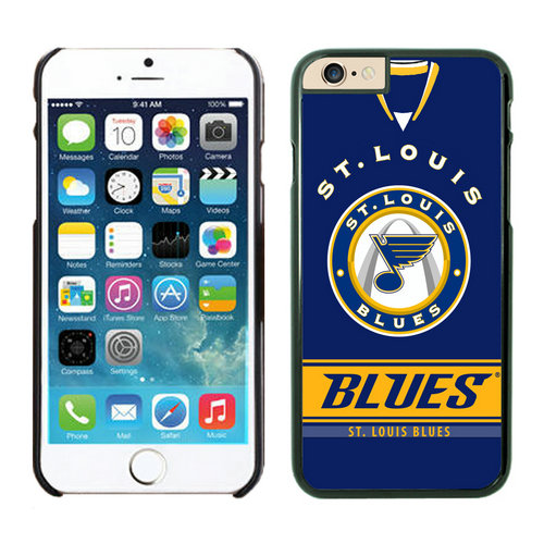 St. Louis Blues iPhone 6 Cases Black02