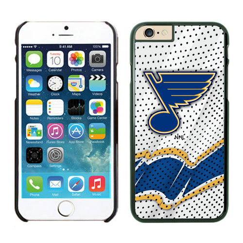 St. Louis Blues iPhone 6 Cases Black03