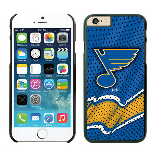 St. Louis Blues iPhone 6 Cases Black04