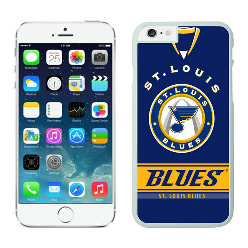 St. Louis Blues iPhone 6 Cases White02