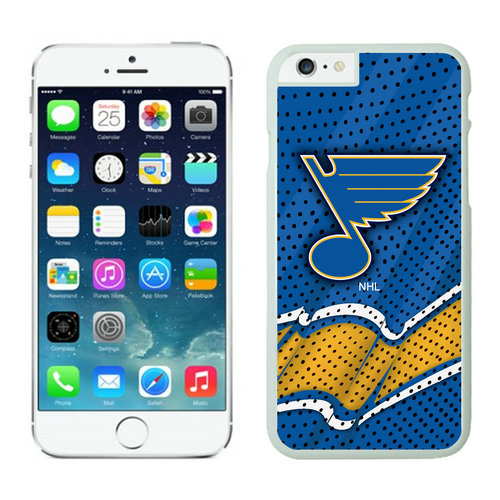St. Louis Blues iPhone 6 Cases White04
