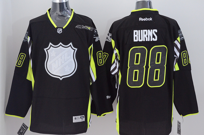 Sharks 88 Burns Black 2015 All Star Jersey