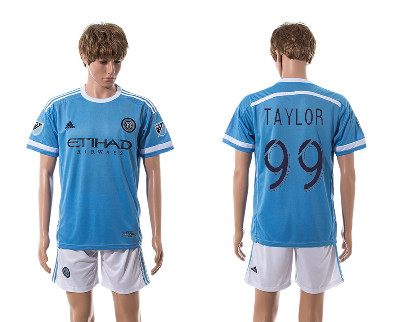 2015-16 New York City FC 99 Taylor Home Jersey