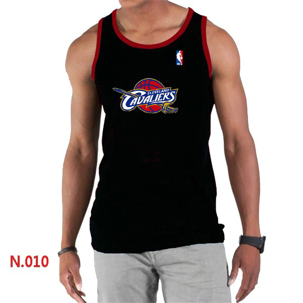Cleveland Cavaliers Big & Tall Primary Logo Men Black Tank Top