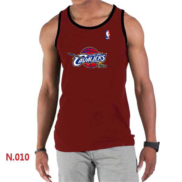 Cleveland Cavaliers Big & Tall Primary Logo Men Red Tank Top