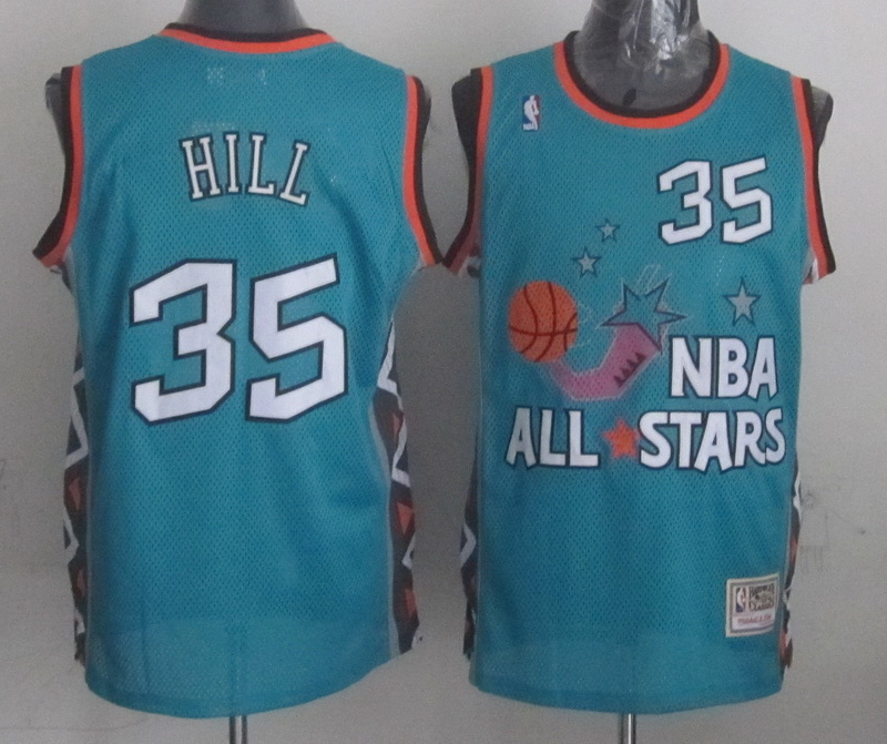 1996 All Star 35 Hill Teal Jerseys
