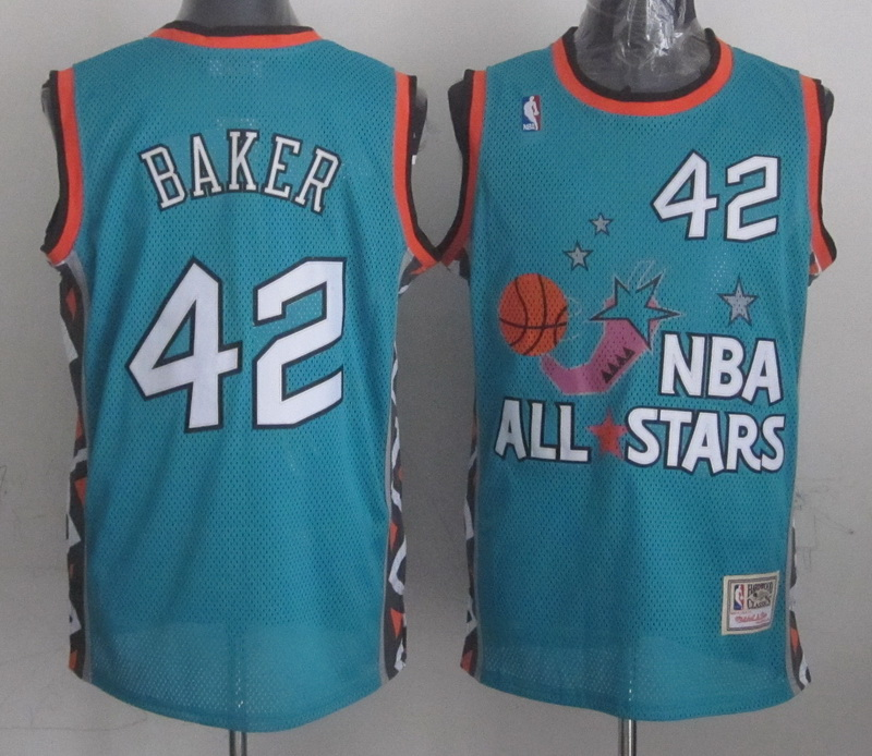 1996 All Star 42 Baker Teal Jerseys