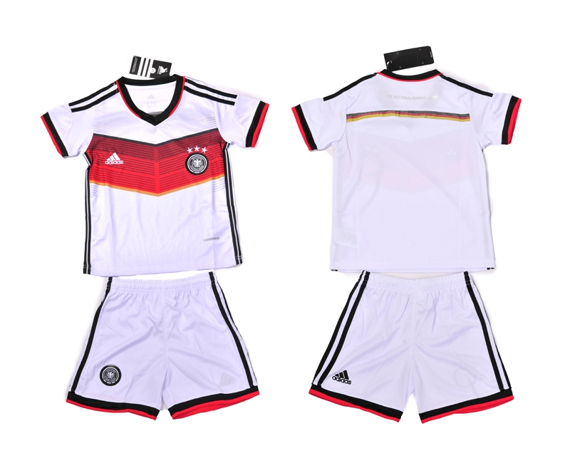 2014 World Cup Germany Home Kids Jerseys