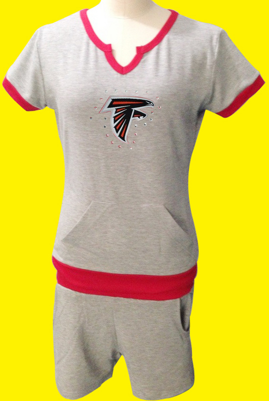Nike Falcons Grey Women Sport Suits