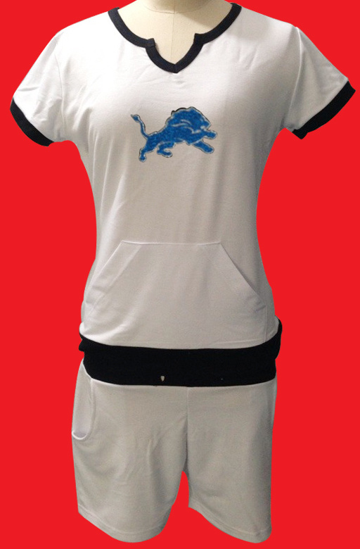 Nike Lions White Women Sport Suits