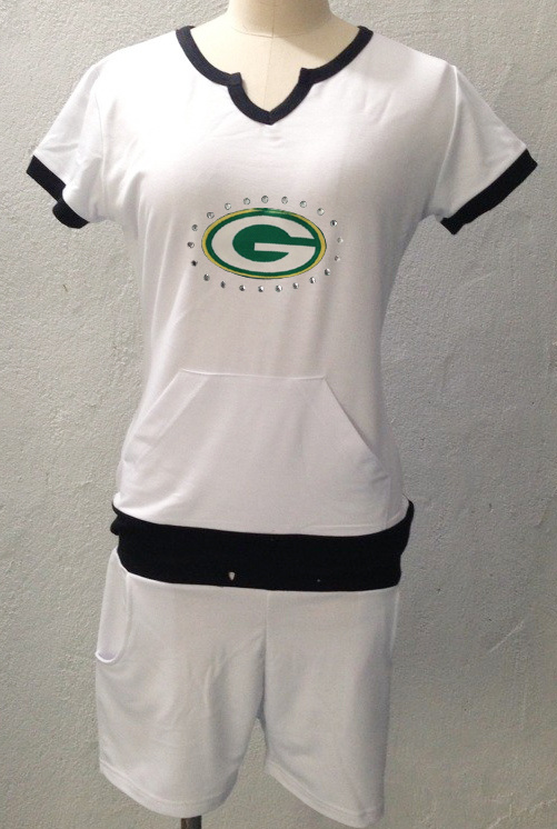 Nike Packers White Women Sport Suits