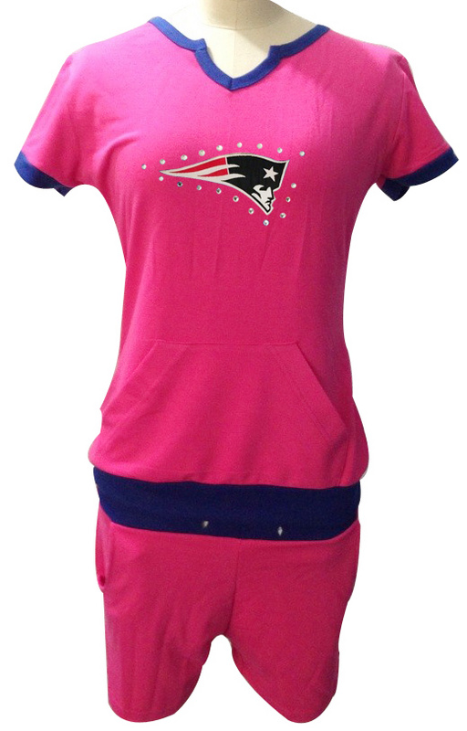 Nike Patriots Pink Women Sport Suits