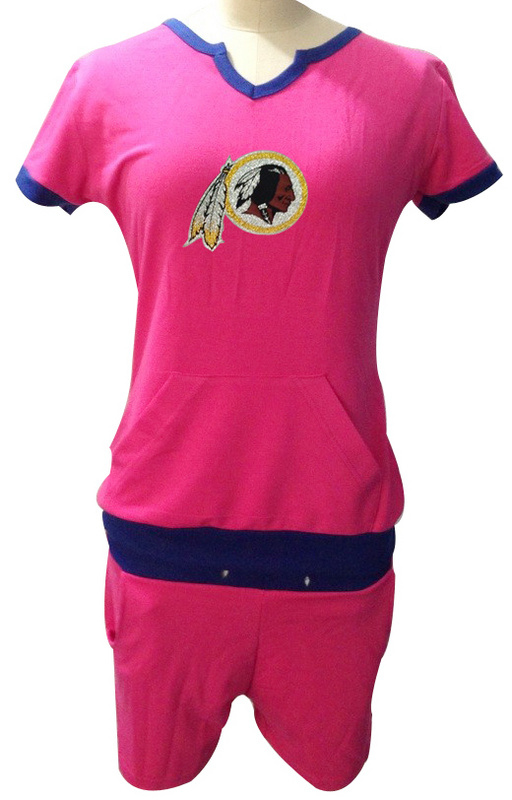Nike Redskins Pink Women Sport Suits