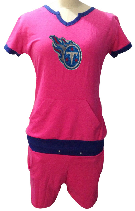 Nike Titans Pink Women Sport Suits