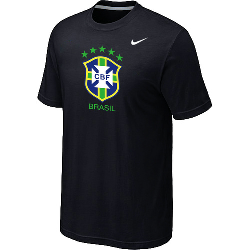 Nike National Team Brazil Big & Tall Men T-Shirt Black