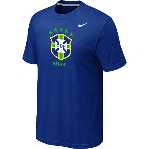 Nike National Team Brazil Big & Tall Men T-Shirt Blue