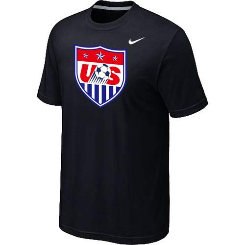 Nike National Team USA Big & Tall Men T-Shirt Black