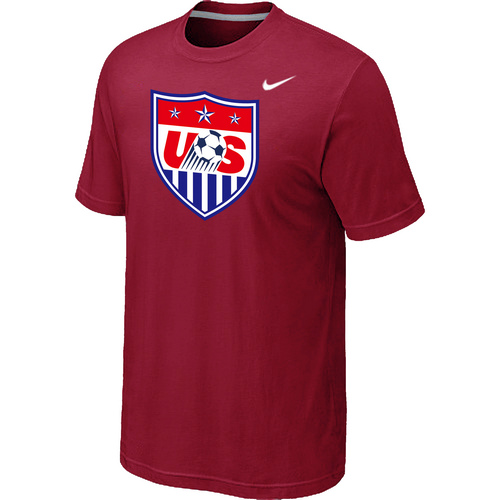Nike National Team USA Big & Tall Men T-Shirt Red