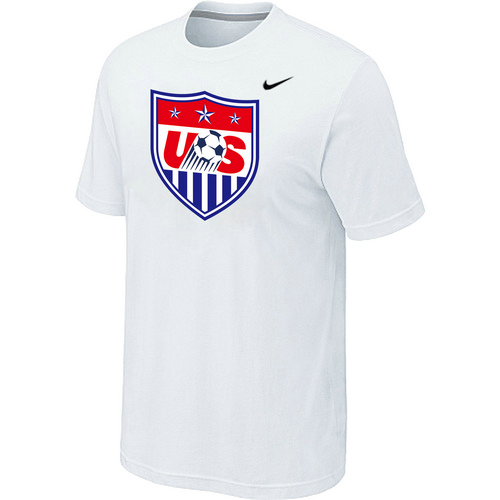 Nike National Team USA Big & Tall Men T-Shirt White