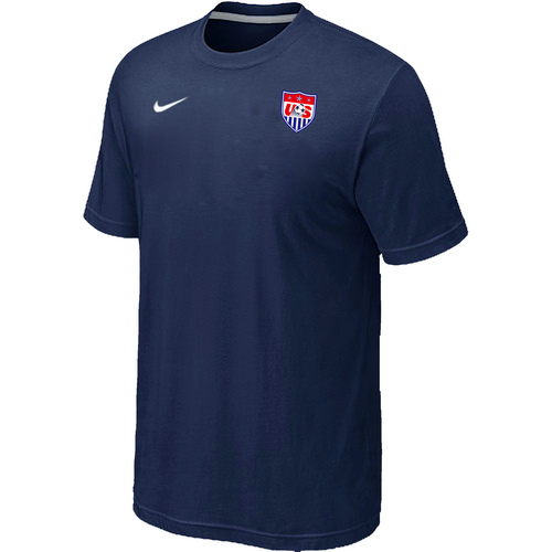 Nike National Team USA Men T-Shirt D.Blue