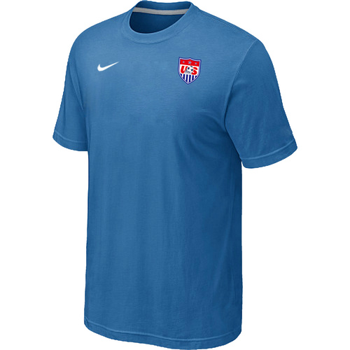 Nike National Team USA Men T-Shirt L.Blue