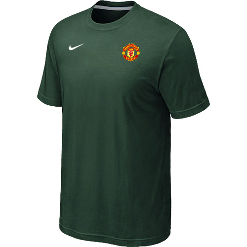 Nike Club Team Manchester United Men T-Shirt D.Green