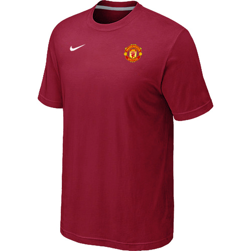 Nike Club Team Manchester United Men T-Shirt Red