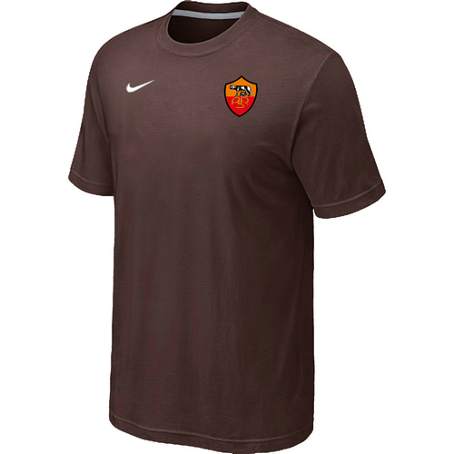 Nike Club Team Roma Men T-Shirt Brown