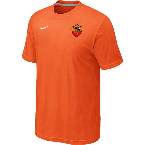 Nike Club Team Roma Men T-Shirt Orange