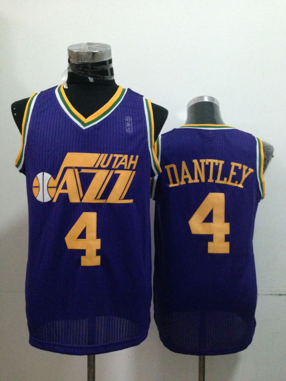 Jazz 4 Dantley Purple Jerseys