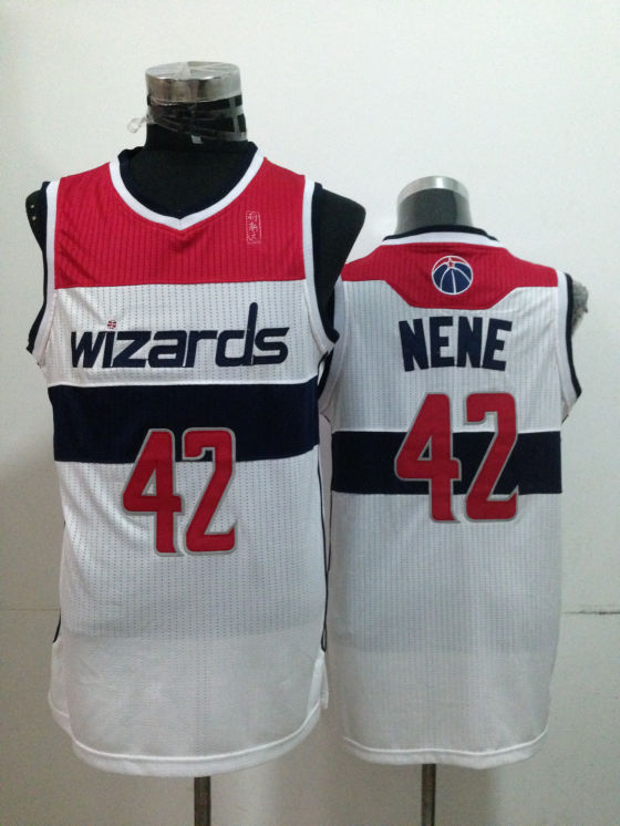 Wizards 42 Nene White New Revolution 30 Jerseys