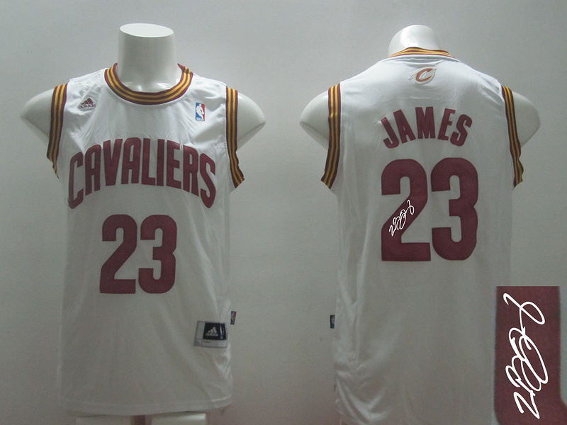 Cavaliers 23 James White Revolution 30 Signature Edition Jerseys