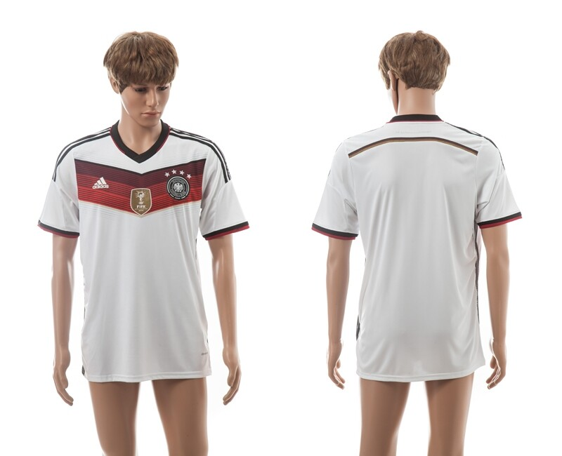 Germany 4-Star 2014 World Cup Champions Home Thailand Jerseys