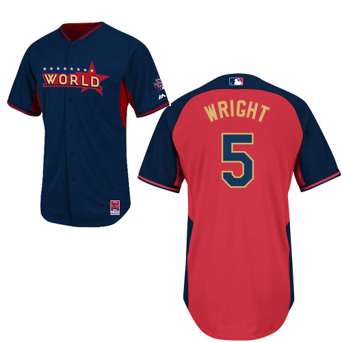 World 5 Wright Blue 2014 Future Stars BP Jerseys