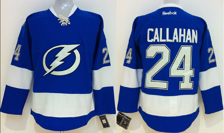 Lightning 24 Callahan Blue Jerseys
