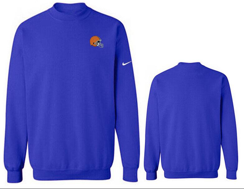 Nike Browns Fashion Sweatshirt Blue3