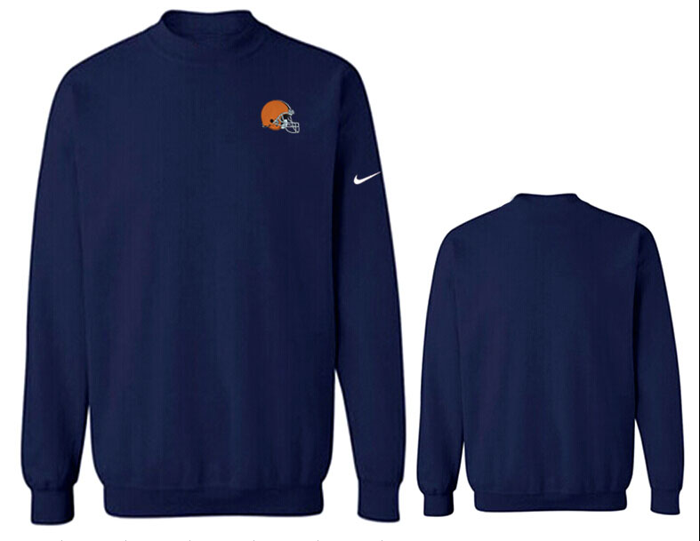 Nike Browns Fashion Sweatshirt D.Blue3
