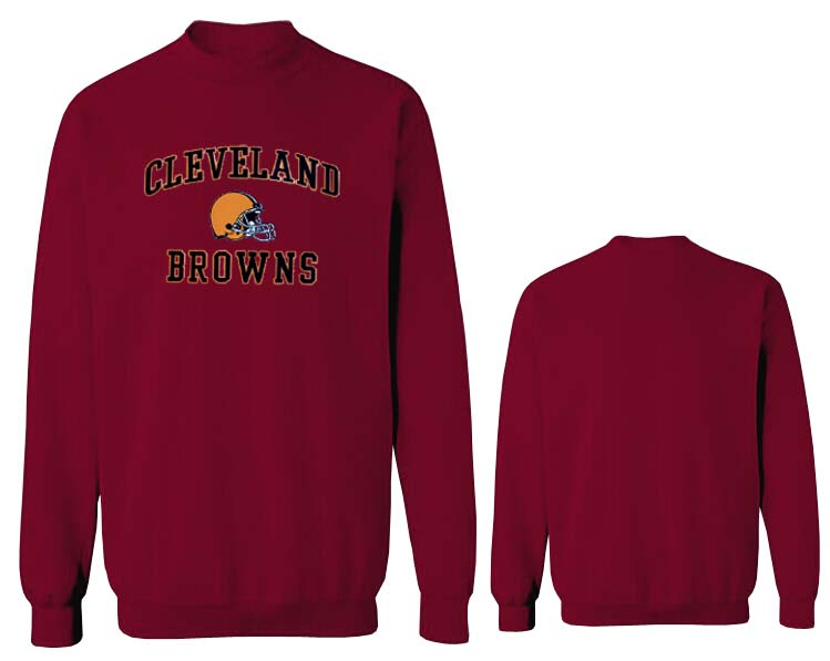 Nike Browns Fashion Sweatshirt D.Red2