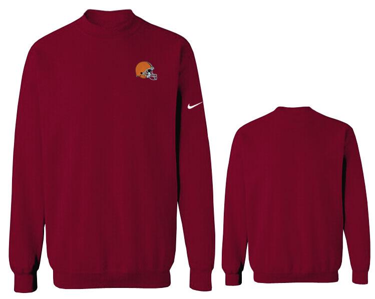 Nike Browns Fashion Sweatshirt D.Red3