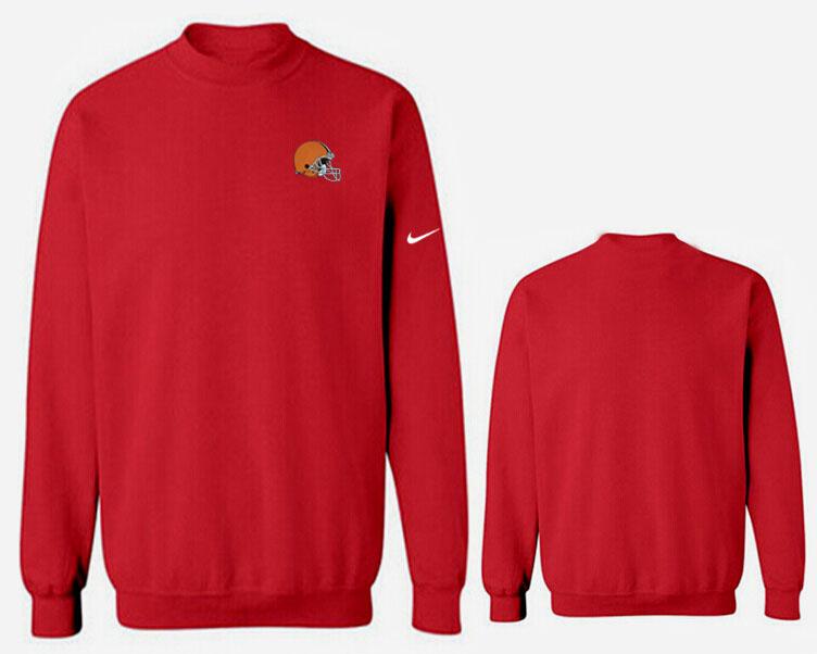 Nike Browns Fashion Sweatshirt Red3