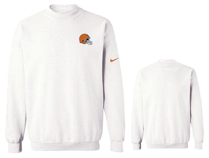 Nike Browns Fashion Sweatshirt White3