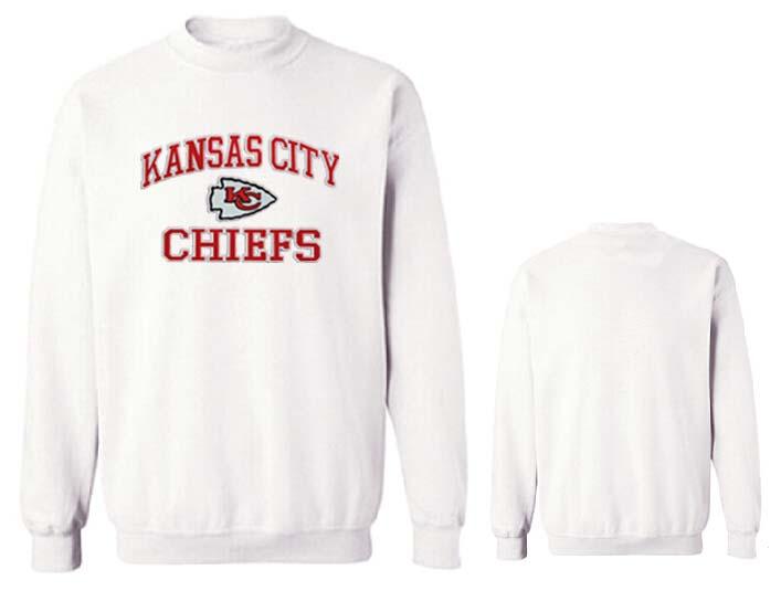 Nike Chiefs Fashion Sweatshirt White2